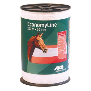 Economy Line weiß 200m x 20mm Breitband