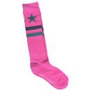 HH Kniestrümpfe Striped Star rapture rose 36-40