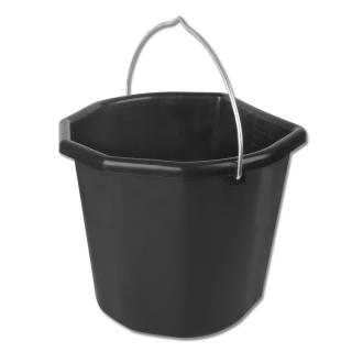 Mehrzweckeimer schwarz 20l
