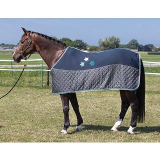 Harrys Horse Fleecedecke Abschwitzdecke midnight navy 145 cm