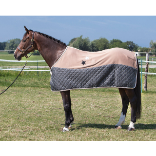 Harrys Horse Fleecedecke Abschwitzdecke chanterelle 155 cm