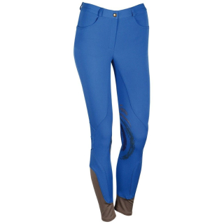 Harrys Horse Reithose Fairford Silikon Kniebesatz knallblau oder dunkelblau