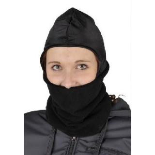 HKM Sturmhaube Fleece schwarz