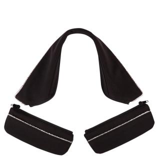 BR Kragen und Taschenset Ankara für Turniersakko zu Auswechseln M schwarz