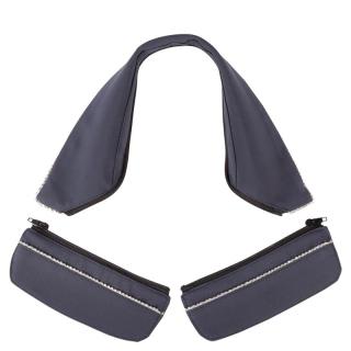 BR Kragen und Taschenset Ankara für Turniersakko zu Auswechseln M blau