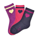 ELT Lucky Socks Herzchen 3er Pack Kindersocken