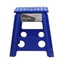 QHP Aufstiegshilfe klappbar Tritthocker kobaltblau