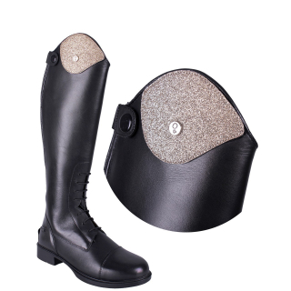 QHP Austauschteil Patch Glitter für Stiefel Romy