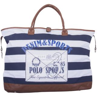 HV Polo Schultertasche Strandtasche Canvas Bag Kendall