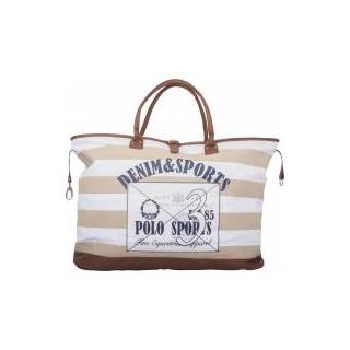 HV Polo Schultertasche Strandtasche Canvas Bag Kendall Sand