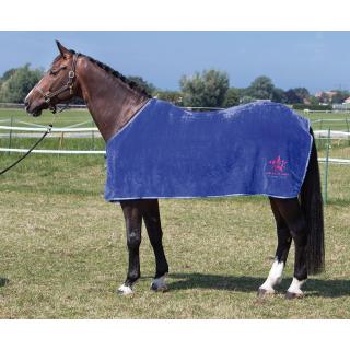 Harrys Horse Fleecedecke blau Shettydecke Fohlendecke Abschwitzdecke Wendedecke