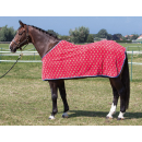 Harrys Horse Fleecedecke blau Shettydecke Fohlendecke Abschwitzdecke Wendedecke 95 cm