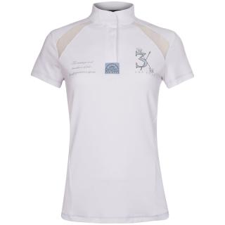 HV Polo Shirt Landon Turniershirt Damen Kurzarm weiß Pro Kollektion XS