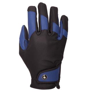 BR Winterhandschuh Zima Herren Reithandschuh Männerhandschuh schwarz-blau 10,5