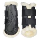 HKM Dressur Gamaschen -Comfort- mit Schlagschutz