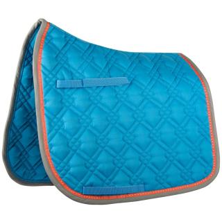 Harrys Horse Schabracke RHA Malibu blau o. grau mit Strass blau Dressur