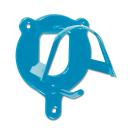 Waldhausen Trensenhalter Metall blau
