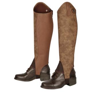Harrys Horse Lederchaps Velvet schwarz o.braun braun XXS