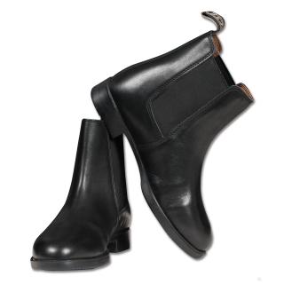 ELT Jodhpurstiefelette Classic Reitstiefelette Lederstiefelette schwarz 38
