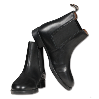 ELT Jodhpurstiefelette Classic Reitstiefelette Lederstiefelette schwarz 45