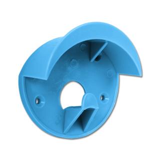 Trensenhalter Kunststoff blau